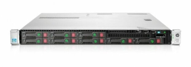 Server HP ProLiant DL360e G8, Rackabil 1U, 2 Procesoare Intel Octa Core Xeon E5-2450L 1.8 GHz, 8 GB